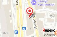 Схема проезда до компании Московское Главное Территориальное Управление Центрального Банка Российской Федерации в Москве