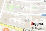 Схема проезда до компании Миру мир в Москве