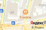 Схема проезда до компании Kitchen burger bar в Москве