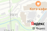 Схема проезда до компании Amelin в Москве