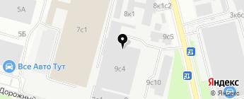 Альфа Фиат ДМ на карте Москвы