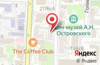 Схема проезда до компании ТрастОптима в Москве