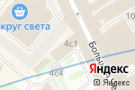 Схема проезда до компании КБ Информпрогресс в Москве