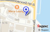 Схема проезда до компании ОФИС НОВОДАНИЛОВСКИЙ в Москве