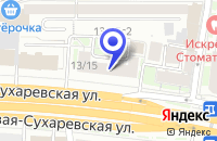 Схема проезда до компании ОБУВНОЙ МАГАЗИН САДОВОЕ КОЛЬЦО в Москве