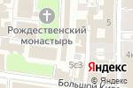 Схема проезда до компании Богородице-Рождественский ставропигиальный женский монастырь в Москве