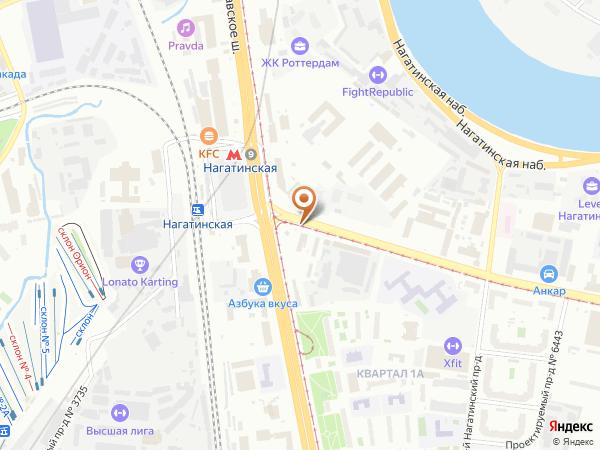 Остановка Платф. Нижние Котлы в Москве