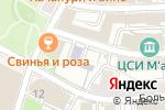 Схема проезда до компании Самбо в Москве
