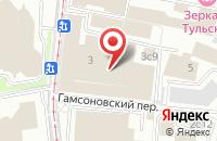 Схема проезда до компании Бизнес-Регион в Москве