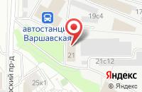 Схема проезда до компании Бурнефть в Москве