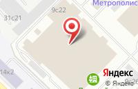 Схема проезда до компании Содалити в Москве