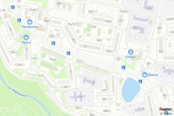 Ремонт телевизоров Ясный проезд на яндекс карте