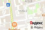 Схема проезда до компании Замоскворечье в Москве