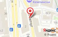 Схема проезда до компании Тикс-М в Москве
