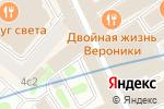Схема проезда до компании Право на чудо в Москве