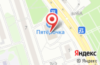 Схема проезда до компании Савс в Москве