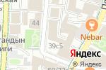 Схема проезда до компании Светильники в Москве