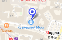 Схема проезда до компании КОНСАЛТИНГОВЫЙ ЦЕНТР УНИКОН в Москве