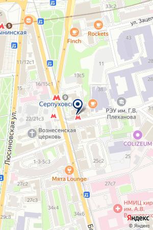 СЕМЕЙНАЯ ПАРИКМАХЕРСКАЯ на карте Серпухова