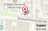 Схема проезда до компании Театральная Жизнь в Москве