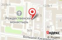 Схема проезда до компании Полиграфсервис в Москве