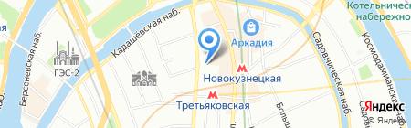 РМБ на карте Москвы