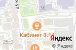 Схема проезда до компании Британский психологический центр в Москве