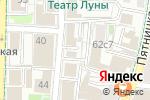 Схема проезда до компании Антикварный салон на Ордынке в Москве