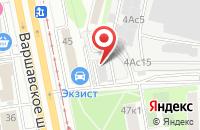 Схема проезда до компании Салют-Энергогаз в Москве
