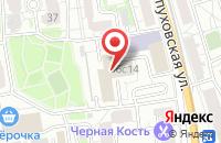 Схема проезда до компании Красное & Белое в Подольске