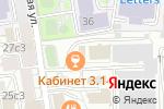 Схема проезда до компании Гарантия в Москве