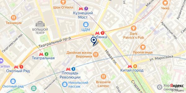 Iridium на карте Москве