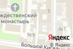 Схема проезда до компании Алана-Виза в Москве