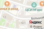 Схема проезда до компании Вива Дент в Москве