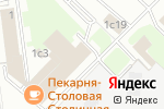Схема проезда до компании Дельта Сервис в Москве