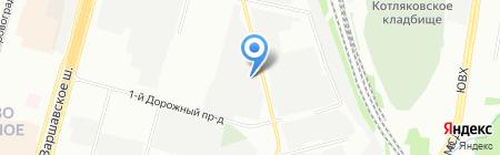 Регион-Аэропорт на карте Москвы