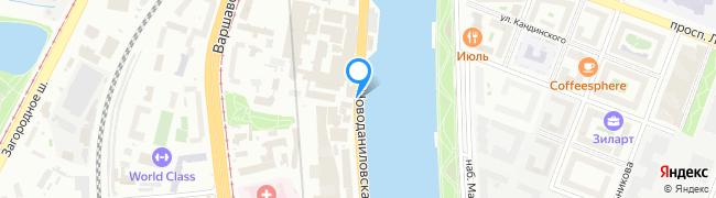 Новоданиловская набережная
