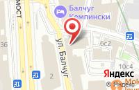 Схема проезда до компании Финансы О.В.К. в Москве