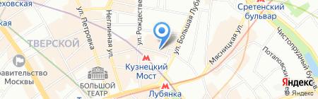 Артбеседка на карте Москвы