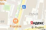 Схема проезда до компании ДАБЛБИ в Москве