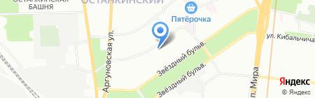 Средняя общеобразовательная школа №1220 с дошкольным отделением на карте Москвы