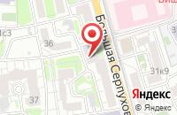 Схема проезда до компании Бизнеспроект в Москве
