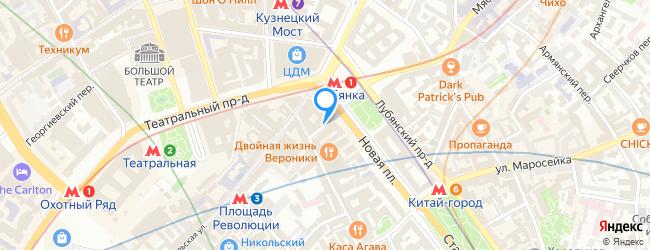 Малый Черкасский переулок