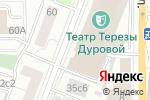 Схема проезда до компании Агат в Москве
