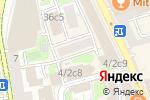 Схема проезда до компании N-House в Москве