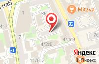 Схема проезда до компании Интеравиа в Москве