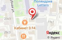Схема проезда до компании Продюсерский центр Александра Шевченко в Москве