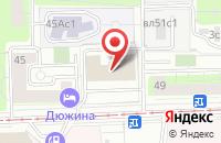 Схема проезда до компании Барма Недвижимость в Москве