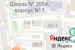 Схема проезда до компании Фелиция-Тур в Москве