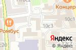 Схема проезда до компании Кириллица в Москве